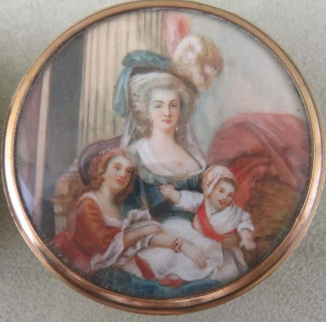 Portrait Marie Antoinette et ses enfants par Elisabeth Louise Vigée Lebrun - Page 2 Tzolzo14