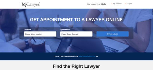 Sri Lankan Law Forum - Lawyer Registration now open Screen11