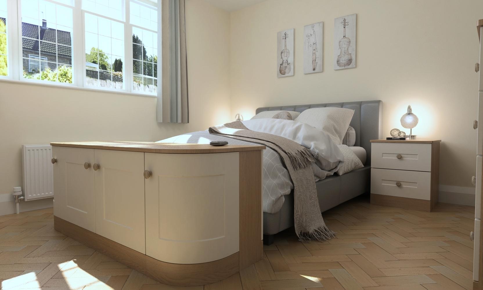 Browns 2000 Matfen Ivory Oak & Lissa Oak Vinyl Bedroom Diggle14