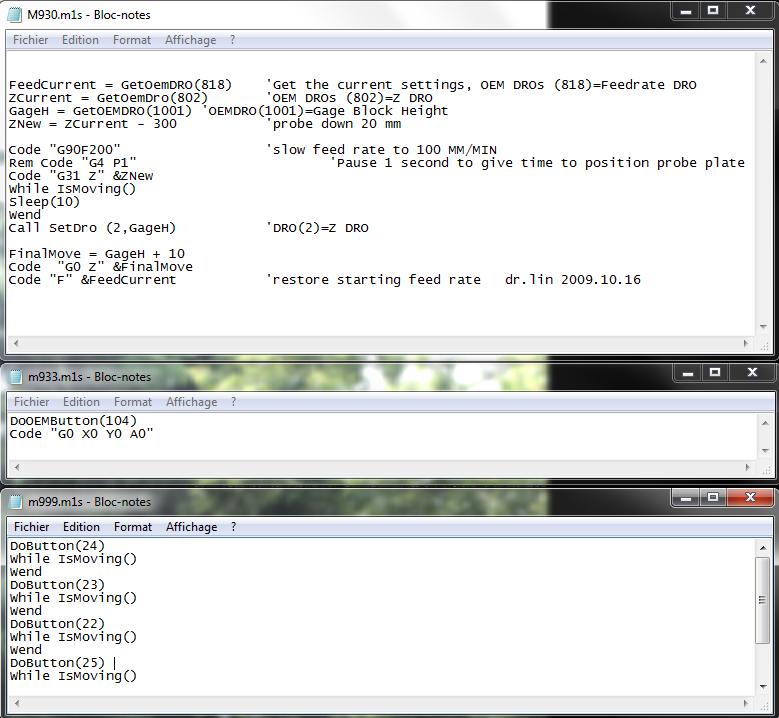 """paramétrage """"handwheel"""" et mach3 3_macr11"""