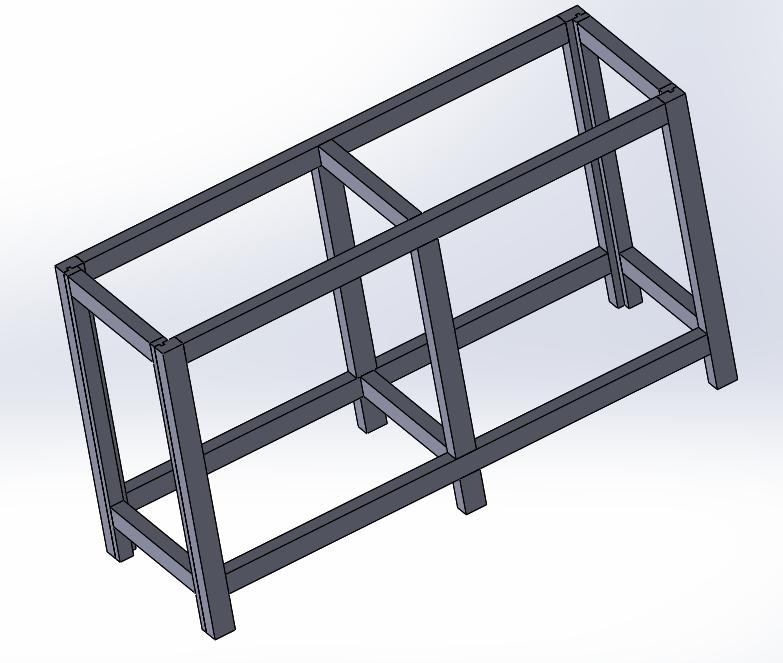 Construction d'un meuble pour poser un aquarium Assemb10