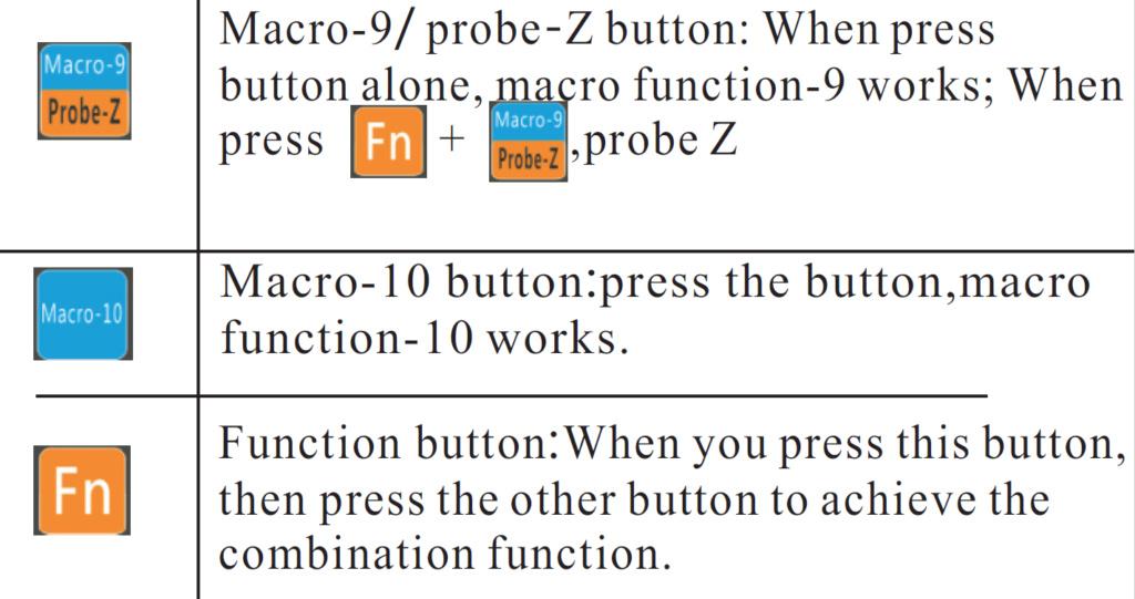 """paramétrage """"handwheel"""" et mach3 Bouton10"""