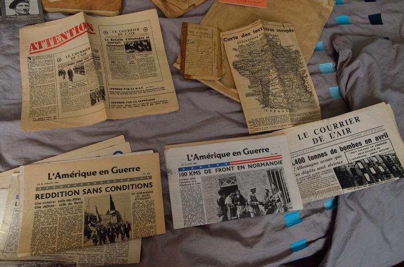 Divers documents WW2 (essentiellement presse clandestine) Dsc_0115