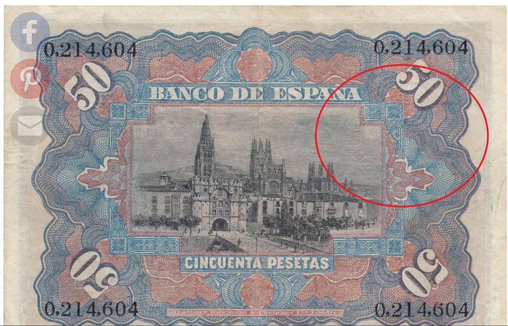 50 Pesetas 1907 (Otras) Billet10