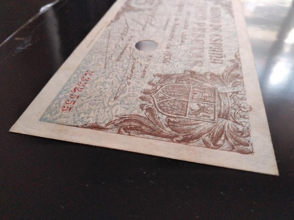 5 pesetas 1936 Burgos con taladro Img_2011