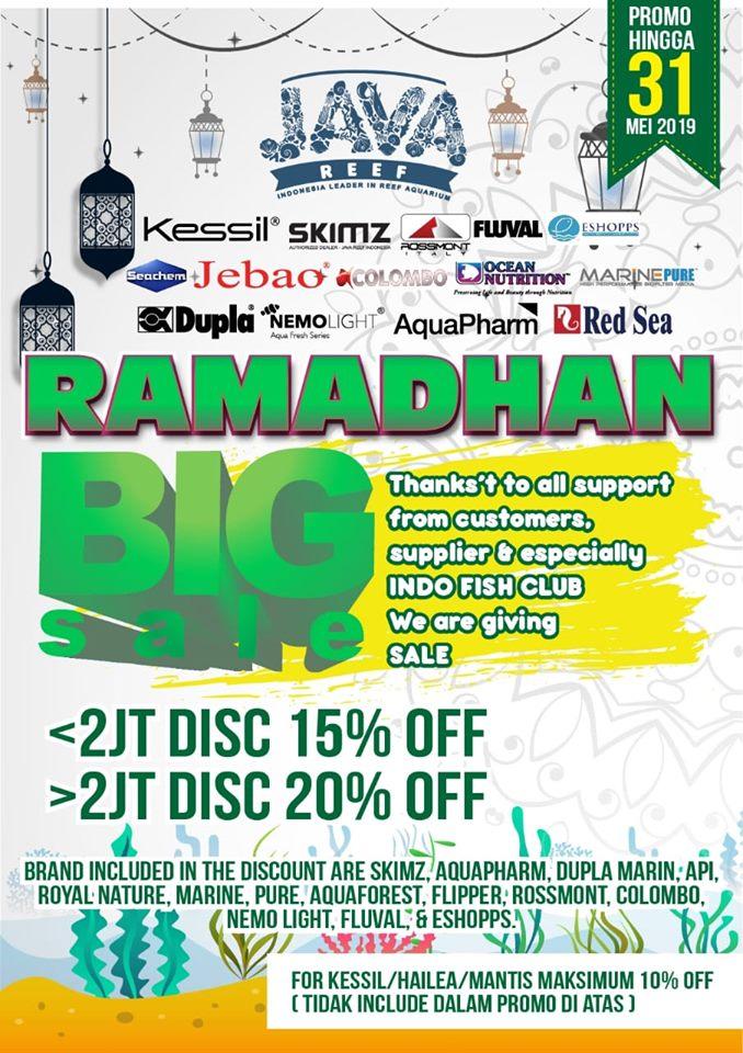 Java Reef Studio  PROMO RAMADHAN  Ramadh15