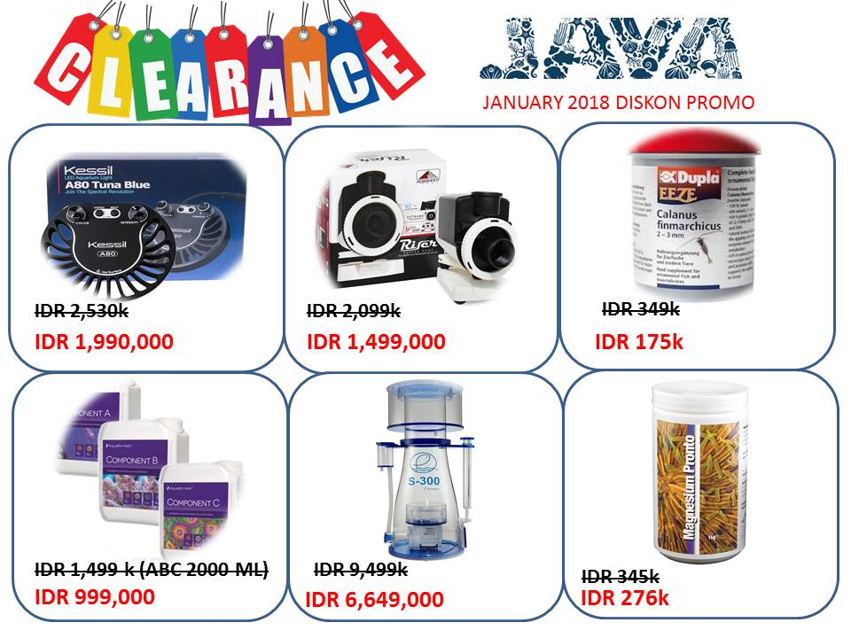 Java reef clearance Promo Januari 2019 Whatsa12