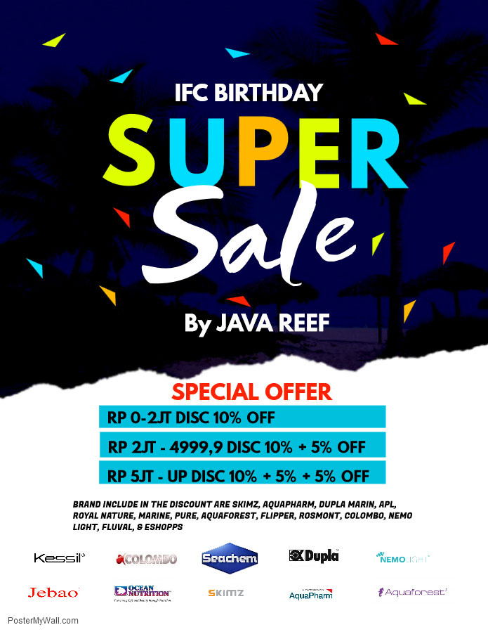IFC BIRTHDAY SUPER SALE Whatsa30