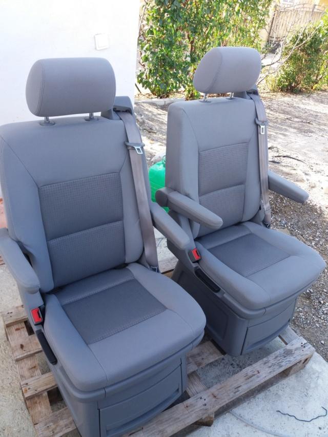 Vends 2 sièges non pivotants multivan T5 Photo_10