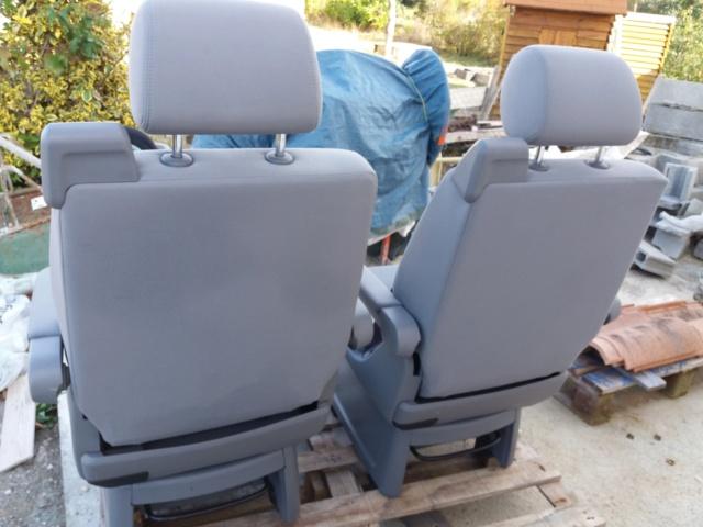 Vends 2 sièges non pivotants multivan T5 Photo_12