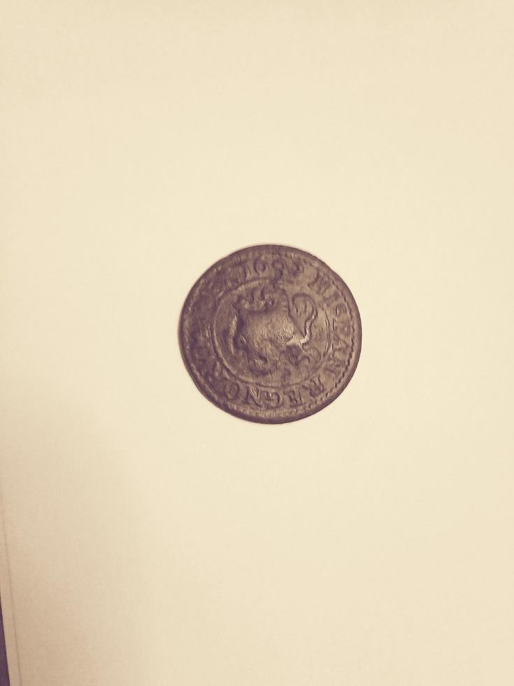 2 maravedís de Felipe III de Segovia, 1602. A-feli10