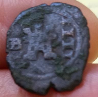 4 maravedís de Felipe IV de Burgos. A-feli17