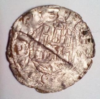 Dinero de Fernando IV. Sevilla A-plat10
