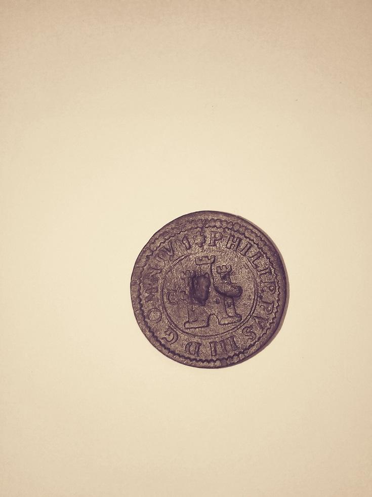 2 maravedís de Felipe III de Segovia, 1602. R-feli10
