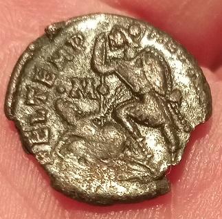 AE3 de Constancio II tipo FEL TEMP REPARATIO. Soldado romano alanceando a jinete caído. R-rom_14