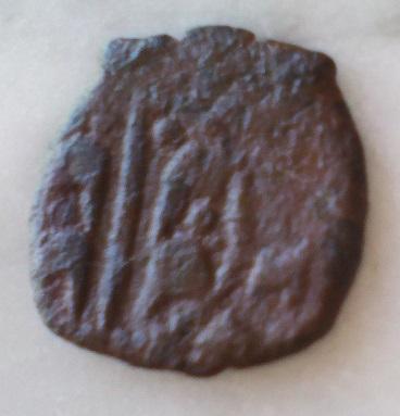 Dinero de Valencia de Carlos II. Revers15
