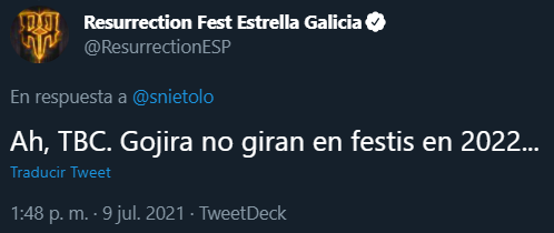 Resurrection Fest Estrella Galicia 2022. (29 - 3 Julio) Avenged Sevenfold, KoRn, Deftones, Sabaton y Bourbon! - Página 2 Captur29