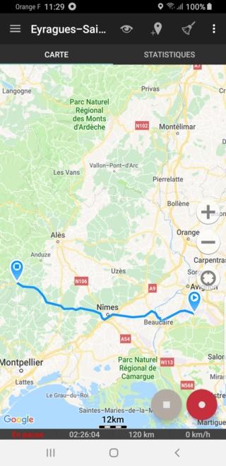 EvTrip convoyage ZOE de Grasse à Nantes E1s3_c11
