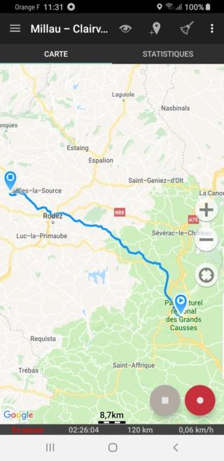 EvTrip convoyage ZOE de Grasse à Nantes E2s2_c10