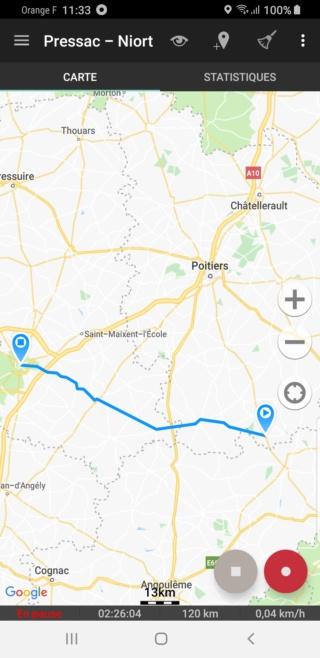 EvTrip convoyage ZOE de Grasse à Nantes E2s6_c10