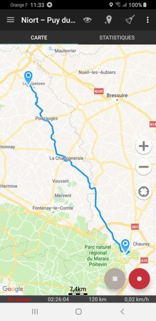 EvTrip convoyage ZOE de Grasse à Nantes E3s1_c10