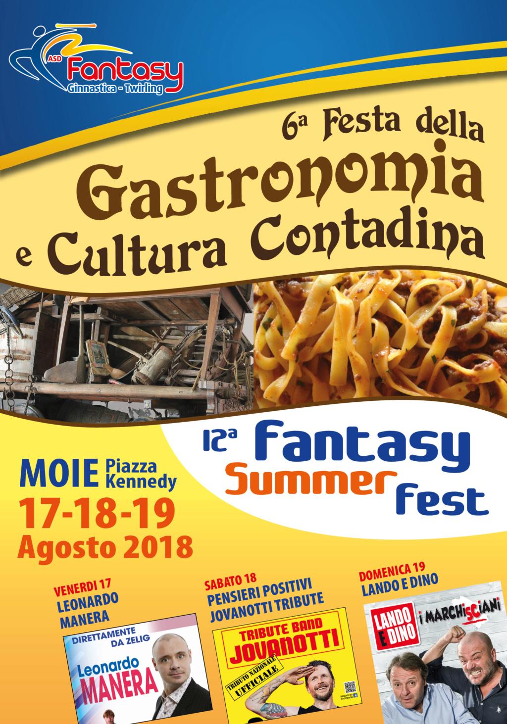FESTA DELLA GASTRONOMIA E CULTURA CONTADINA FANTASY SUMMER FEST Fantas10