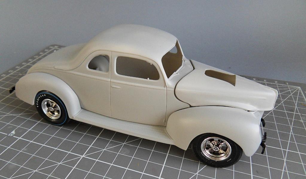 [AMT] Ford coupé 1940 1:25 Appret11