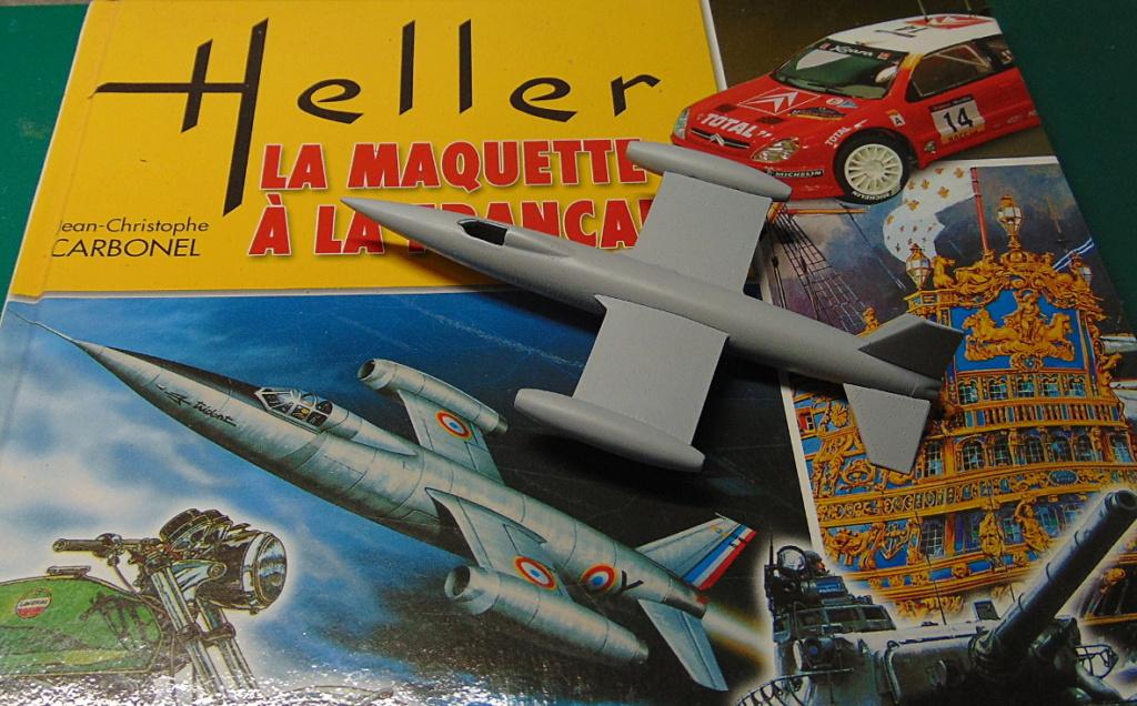 Montage chrono [HELLER Rapid Kit] SNCASO SO 9000 TRIDENT 1/100ème Réf 79725 Appret19