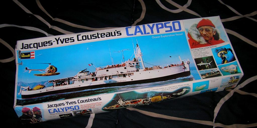 [REVELL] CALYPSO 1/125ème Réf H575 Boite24