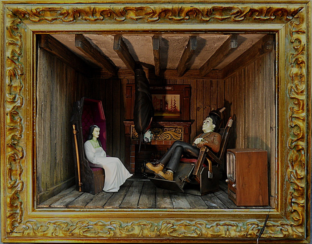 [POLAR LIGHT] The Munsters Living room 1/16ème Réf POL835 - Page 6 Cadre12