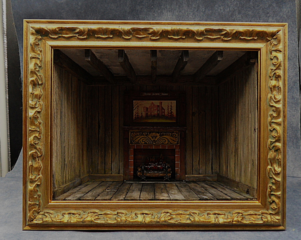 [POLAR LIGHT] The Munsters Living room 1/16ème Réf POL835 - Page 6 Cadre_14