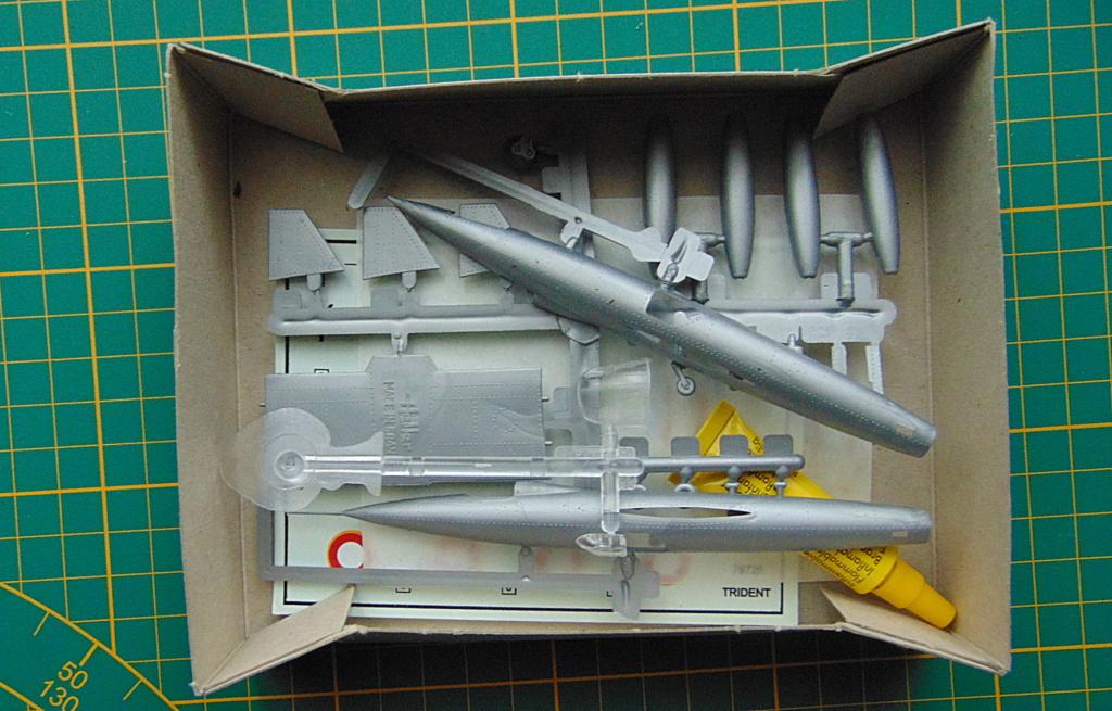 Montage chrono [HELLER Rapid Kit] SNCASO SO 9000 TRIDENT 1/100ème Réf 79725 Dedans10