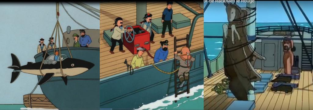 [REVELL] Northsea Fishing Trawler 1:142 Façon SIRIUS Tintin - Hergé Detail13