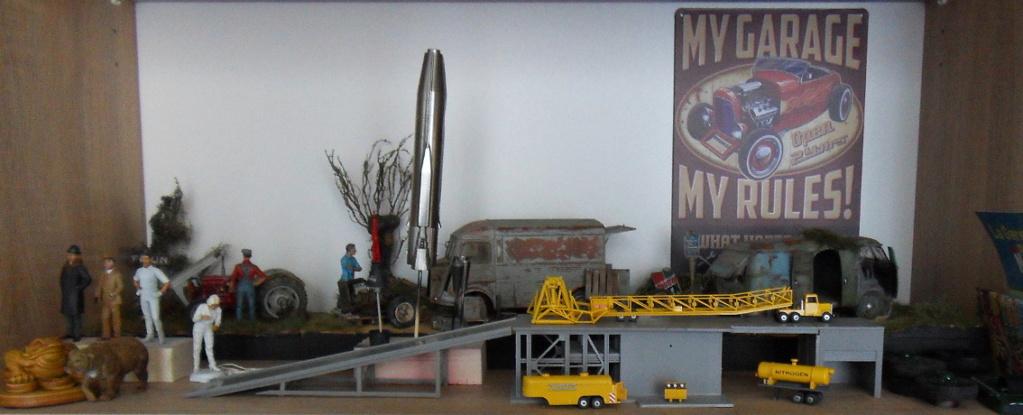 [ATLANTIS] Mercury capsule and Atlas booster - 1:110 Etager10