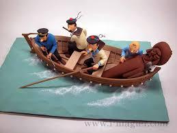 [REVELL] Northsea Fishing Trawler 1:142 Façon SIRIUS Tintin - Hergé Images12