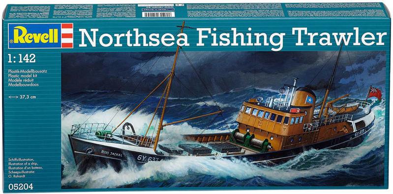 [REVELL] Northsea Fishing Trawler 1:142 Façon SIRIUS Tintin - Hergé Kit11