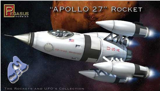 [Pegasus] Apollo 27 Rocket - 1:72 Pegasu10
