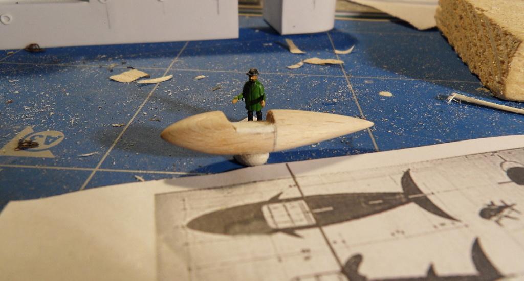 [REVELL] Northsea Fishing Trawler 1:142 Façon SIRIUS Tintin - Hergé - Page 2 Requin10