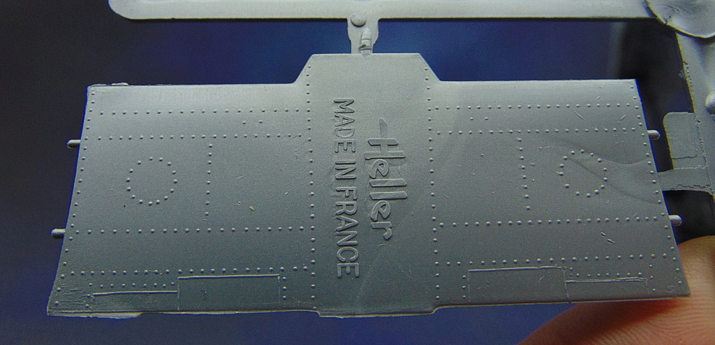 Montage chrono [HELLER Rapid Kit] SNCASO SO 9000 TRIDENT 1/100ème Réf 79725 Rivets10