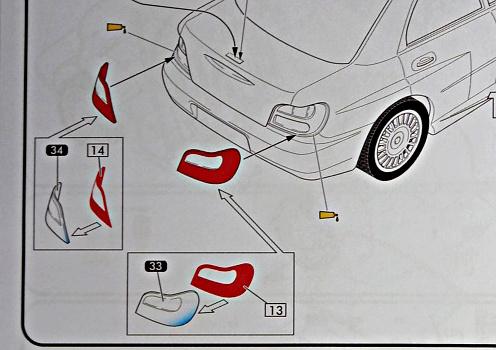 Challenge des 6 ans   SUBARU IMPREZA WRC  1/24 Réf 80761 - Page 3 Subar311