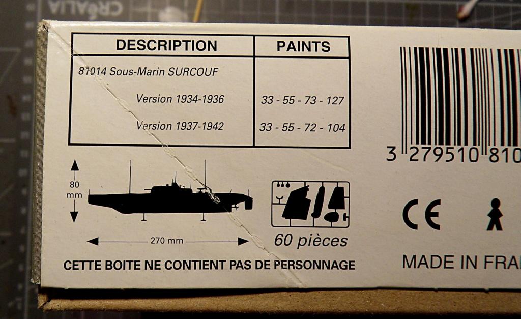 Croiseur sous-marin SURCOUF 1/400ème Réf f 81014 Surcou10