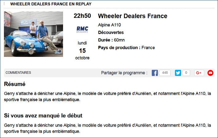 [Heller] Alpine A110 1600 S - Page 2 Tele11