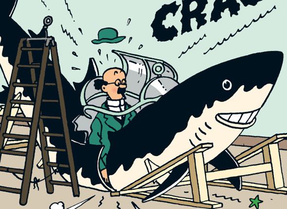 [REVELL] Northsea Fishing Trawler 1:142 Façon SIRIUS Tintin - Hergé Tourne10