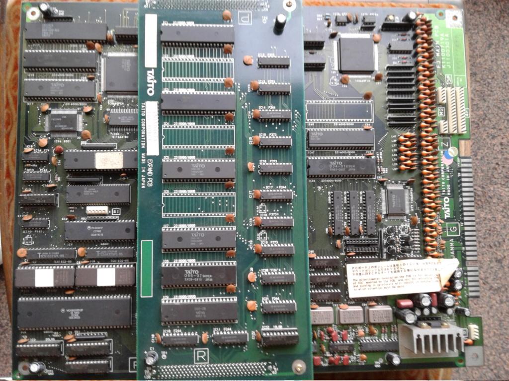 Rayforce PCB JAMMA 20200912