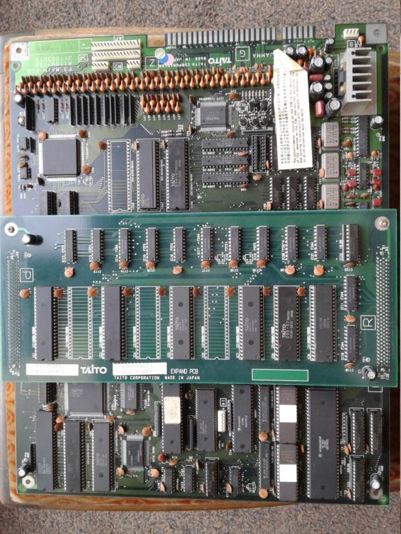 Rayforce PCB JAMMA 20200913
