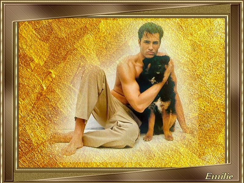Défi / Homme avec chien Defiho10