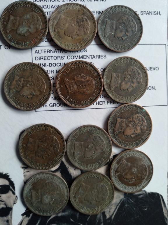 Monedas Alfonso XIII 1904 y 1912 me podéis informar sobre ellas 15400410