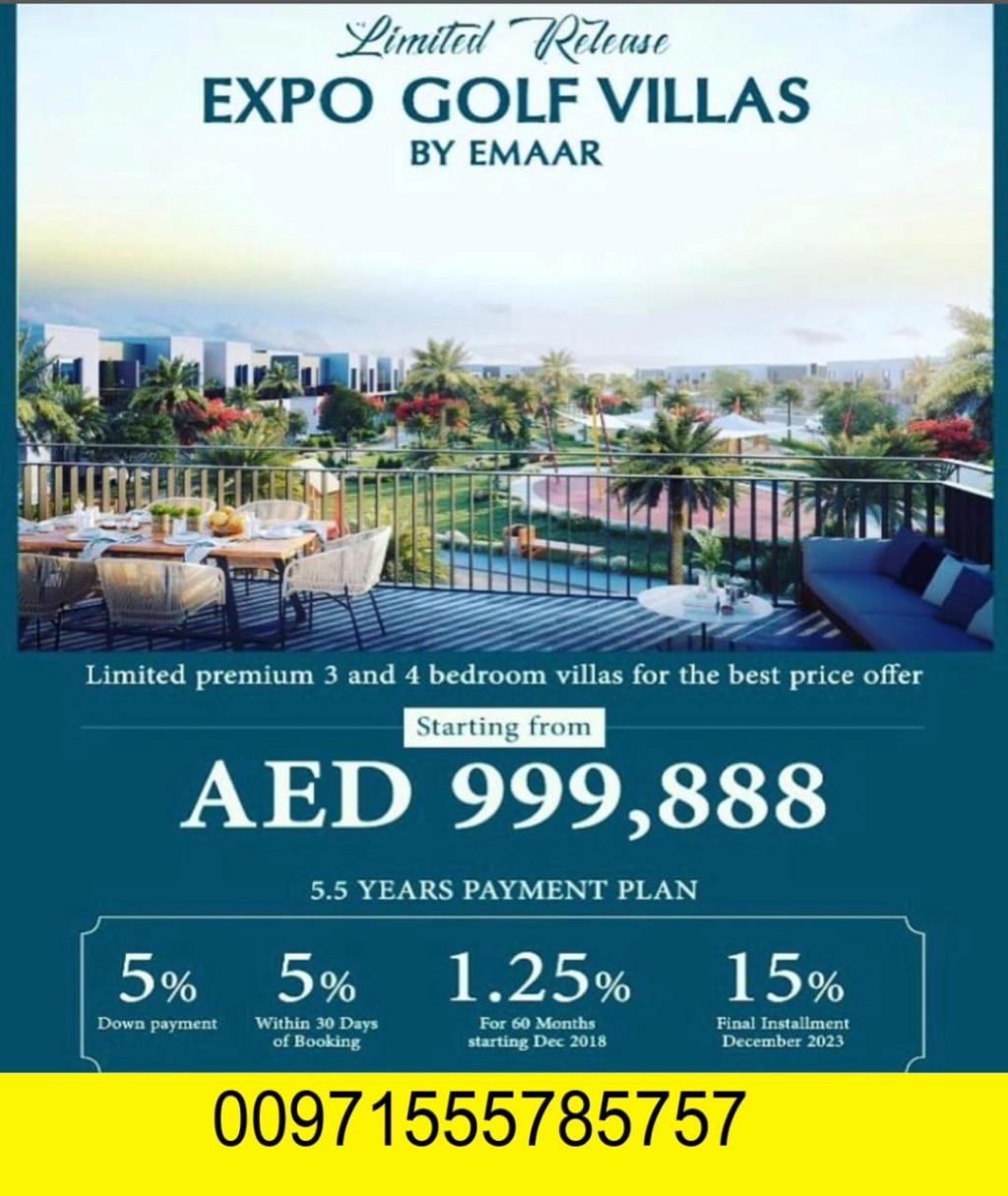 فلل للبيع في دبي بسعر مميز جدا يبدأ السعر من 999,888 درهم فقط  Img_8311
