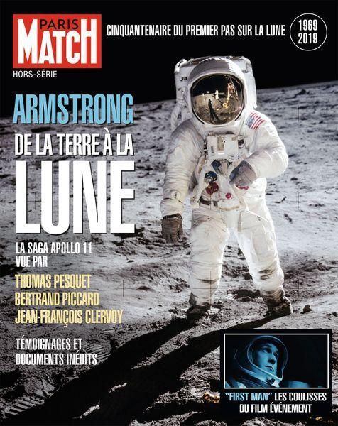 """Paris Match HS28 d'octobre 2018 """"Armstrong. De la Terre à la Lune"""" Armstr10"""