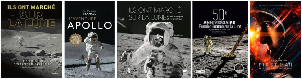 """Paris Match HS28 d'octobre 2018 """"Armstrong. De la Terre à la Lune"""" Livres10"""
